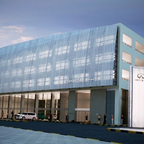 Infiniti and Renault Car Showroom and Service